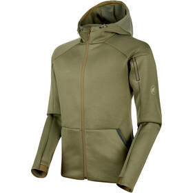 Mammut Logo ML Hooded Jacket Herren olive melange